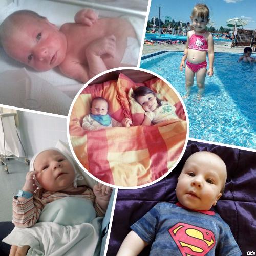 Gyermekvállalás koraszülés után - Adelin és Nolen