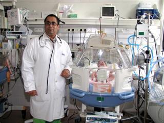 dr. Abdulrahman Abdulrab adjunktus, neonatológus szakorvos