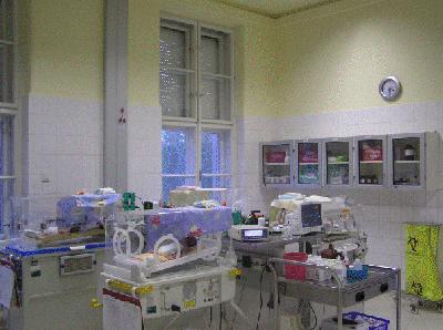 Szegedi Tudományegyetem Gyermekgyógyászati Klinika Koraszülött Intenzív Osztály (Neonatális Intenzív Centrum)