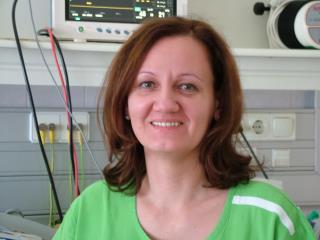 Szabó Edit, részlegvezető főnővér