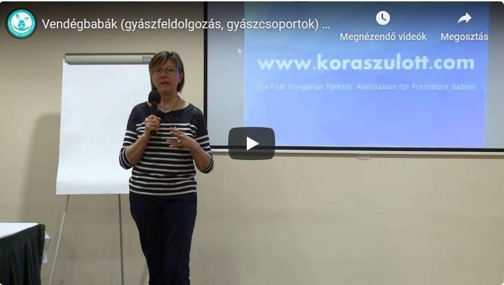 Vendégbabák (gyászfeldolgozás, gyászcsoportok) – Singer Magdolna előadása a KOREXPO-n