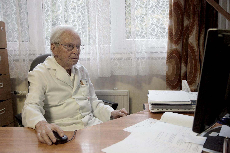 Prof.Dr. Katona Ferenc ma ünnepli 95. születésnapját