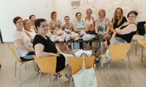 önkénteseinknek alkotó és továbbképző napot tartottunk Budapesten